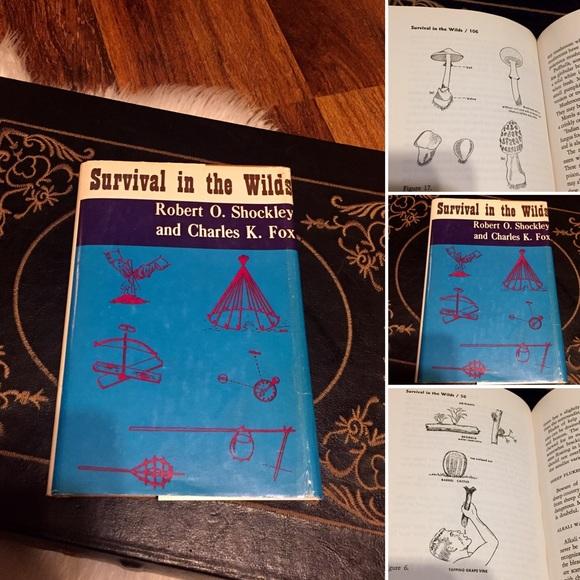 🦋2/$10 3/$15 4/$18 5/$20Vintage 70s Survival Book